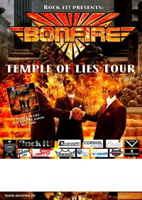 bonfire tourplakat